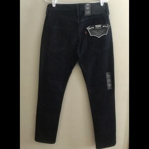 NWT  LEVI'S 511 COMMUTER NEW STYLE BLUE JEANS